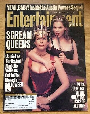 ENTERTAINMENT WEEKLY Magazine #445 August 14, 1998 Jamie Lee Curtis Michelle W