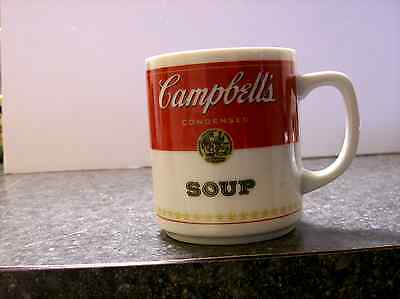 Campbell's Soup Corning Glass Works Set of 3  Porcelain Coffee Mug Cup