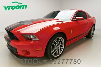 Ford : Mustang Shelby GT500 Certified 2013 ford mustang shelby gt 500 2 k miles shaker manual 1 owner clean carfax vroom