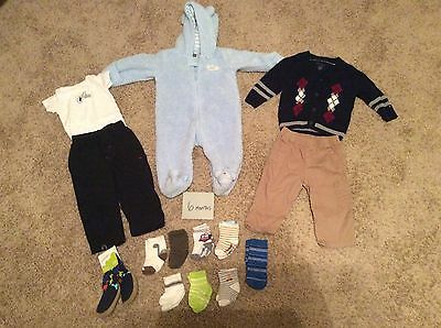 6/9 Month Baby Boy Mixed Clothing Lot - Tommy Hilfiger - Great Condition!