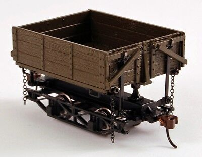 Bachmann On30 Scale Train Logging & Minning Wood Side-Dump Car Green 3 Box 29804