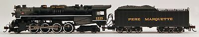 Bachmann N Scale Train 2-8-4 Berkshire DCC Sound Equipped Pere Marquette 50955