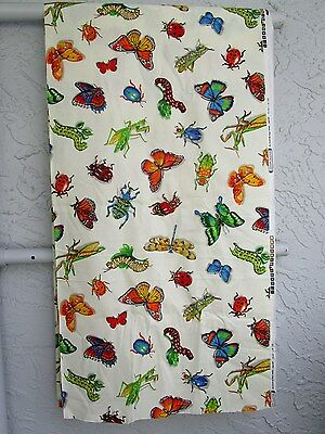 MADE IN USA * REALISTIC * INSECTS * BUTTERFLIES * DRAGONFLIES * BEETLES * 1 YARD