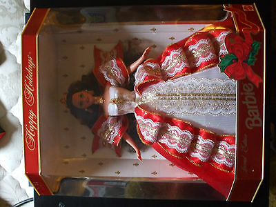 1997 10th Anniversary Special Edition Happy Holidays Barbie, NIB, Never Opened!