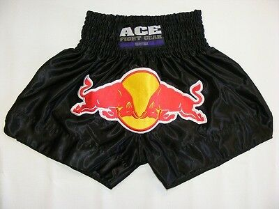 ACE Fight Gear Raging Bull Muay Thai Fight Shorts MMA Kick Boxing