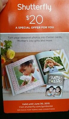 Shutterfly Coupon!!! Save $20 on a purchase of $20 or more!!! Expires 6/30/15