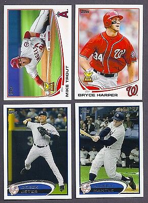 2012 2013 2014 2015 TOPPS SERIES 1 & 2 LOT COMPLETE YOUR SET WITH 20 PICKS