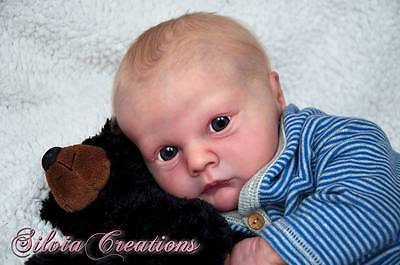 "NEW! Realborn ~ Baby Asher Awake~ 19"" Time Limited Release Doll Kit 6849"