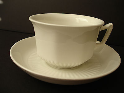 Adams China Empress Ribbed Pattern One Cup & Two Saucers Ironware England