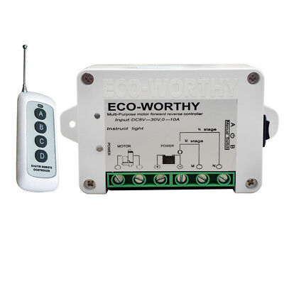 DC12/24V Wireless Remote Control Kit for DC Motor Linear Actuator Door Open