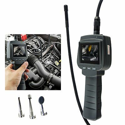 1m Visual Inspection Camera 4 LED Borescope 9mm Car Engine Snake Scope Endoscope
