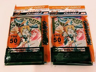 (100)Yu-Gi-Oh Card Protectors Dark Magician Girl Card Sleeves 100Pcs 63x90mm New