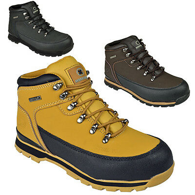 ** Mens Safety Boots Steel Toe Caps Ankle Trainers Hiking Shoes Size 6-13Uk Work