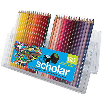Prismacolor Scholar Color Pencil Assorted Gift Set of 60