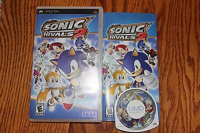 Sonic Rivals 2  (Sony PSP, 2007) Complete with game case booklet