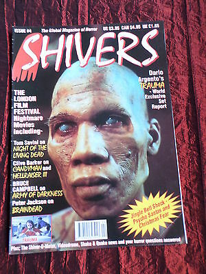 Shivers - Horror Magazine  - # 4 - Bruce Campbell - Clive Barker