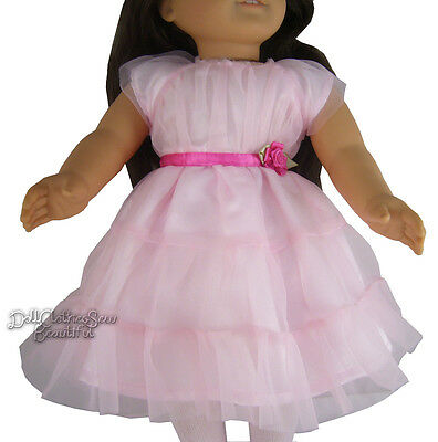 Pink Easter Dress for American Girl Doll Clothes Huge Selection!