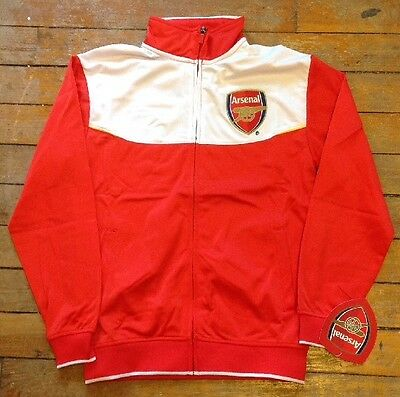 Rhinox Arsenal FC Officially Licensed Track Jacket  Size XL