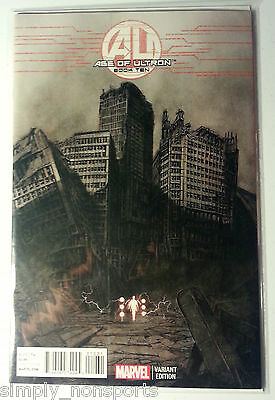 Marvel AVENGERS AGE OF ULTRON book #10 VARIANT ROCK He KIM 1st Angela
