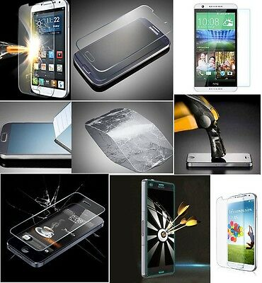 Premium Genuine Tempered Glass Film Screen Protector For Various Mobile Phones