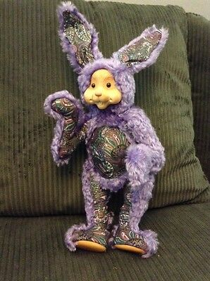 RAIKES Collectible LIMITED EDITION 50 PAISLEY MOHAIR RABBIT