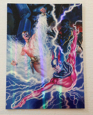 Project Superpowers Year One Limited Edition Chrome  Card # 4 of 9