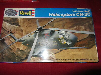 REVELL 1/72nd SCALE JOLLY GREEN GIANT CH-3C PLASTIC MODEL KIT #RH 4346