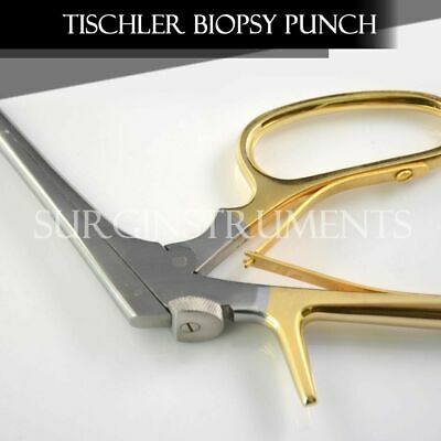 Tischler-Morgan Biopsy Punch Forceps OB/GYN Surgical Instruments 3mm x 7mm Bite