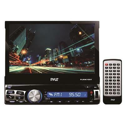 Pyle PLRM70BT 7''Single DIN InDash Detachable Motorized Touch Screen LCD Monitor