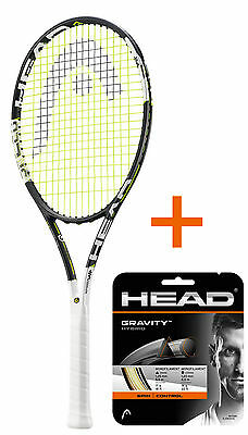 HEAD Graphene XT Speed MP + Besaitung mit HEAD Gravity Hybrid