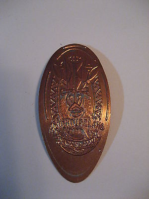 Walt Disney World Magic Kingdom Adventureland Pressed Penny - Disney Coin