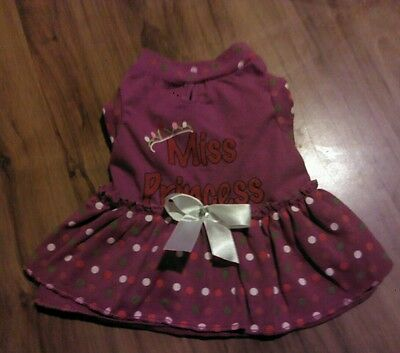 NWT holiday Easter Spring summer Valentine cat dog clothes pet dress dress small