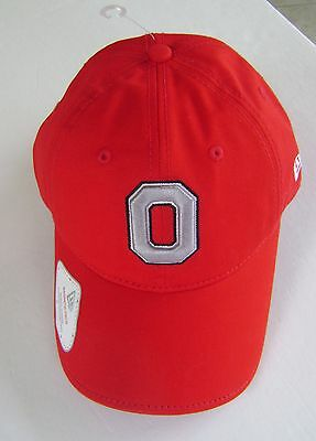 OHIO STATE ONE SIZE ADJUSTABLE NEW ERA FITS HAT CAP *FREE US SHIPPING* ~ NEW