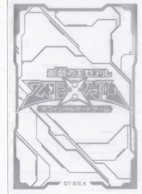 (100) YU-GI-OH Card Deck Protectors New ZEXAL Card Sleeves Clear