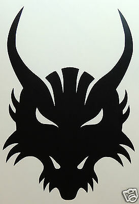HORNED BEAST PAGAN SYMBOL Sticker/Decal   Occult/witchcraft/Spiritualist