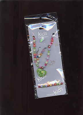 childrens jewelry set GIRLS 3PC SET NECKLACE NECKLACE BRACLER AND EARRINGS CUTE