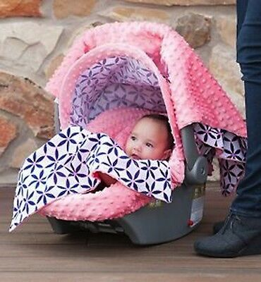Carseat Canopy Caboodle Infant Car Seat Canopy Cover 5 piece Set Covers Kendra