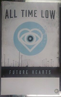 Music Poster Promo All Time Low ~ Future Hearts