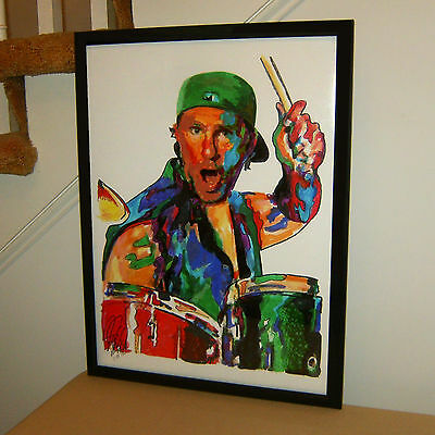 Chad Smith, Red Hot Chili Peppers, Drummer, Chickenfoot, 18x24 POSTER w/COA