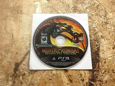 Mortal Kombat Komplete Edition  (Sony PlayStation 3, 2011) Used