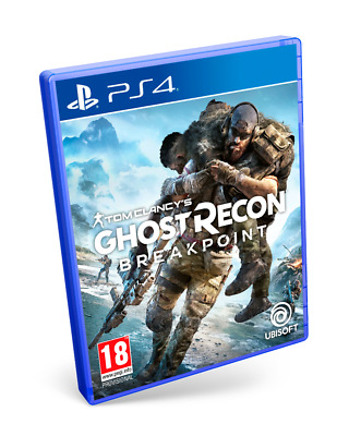 Ghost Recon Breakpoint Ps4 Cd Fisico Nuevo Precintado Castellano Español