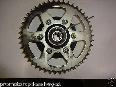 Kawasaki Er6 2012 2013 2014 2015:sprocket & Carrier - Rear:used Motorcycle Parts