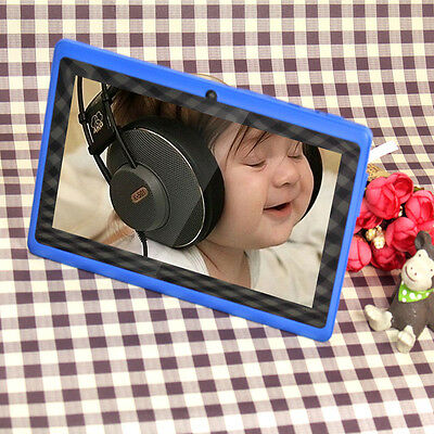 """8GB 7"""" Tablet PC Quad Core A33 Google Android 4.4 Capacitive WiFi Dual Camera"""