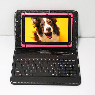 """7"""" Google Tablet PC Android 4.2 WIFI A23 Dual Core Capacitive 16GB +PU Keyboard"""