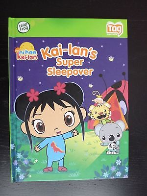 Leap Frog Tag Book ~Ni Hao Kai-lan's Super Sleepover