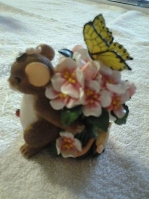 """Charming Tails """"If Friends Were Flowers, I'd Pick You"""" 88/122~Fitz and Floyd"""