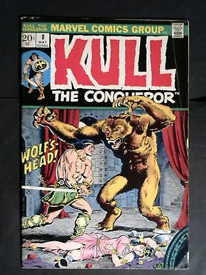 Marvel Comic.Kull the Conqueror #8 (May 1973, Marvel)