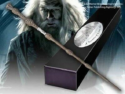 HARRY POTTER OFFICIAL DUMBLEDORE WIZARD WAND + NAME CLIP EASTER DAY GIFT NEW