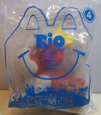 New Sealed package - 2011 RIO-LUIZ the dog  #4 McDonald's Happy Meal Toy