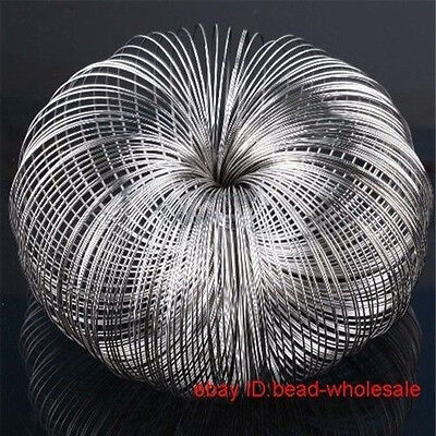 100/300 Loops Steel Memory Wire DIY Cuff Bracelet Bangle Jewelry Making 0.6x60mm
